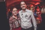 MOTTO CHARITY PUNSCHFEST mit Designerin Eva Poleschinski, hier mit 'Hausherr' Tom Sampl (Foto Marzena Wolowicz)