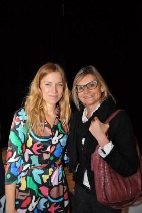 Landkrimi-Präsentation im ORF-Center Wien: Regisseurin Catalina Molina und Hedi Grager (Foto Reinhard Sudy)