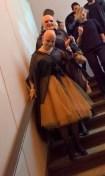Eva & Adele auf der Show von Isabel Vollrath (Foto Hedi Grager)