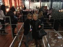 Journalistin und Bloggerin Hedi Grager und Helga Kresnik, Kresnik Woman Store, bei der Marc Cain Fashion Show Berlin (Foto privat)