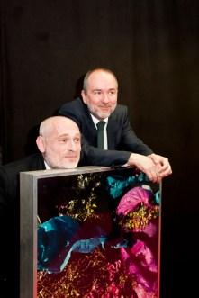 Kulturminister Thomas Drozda und Johannes Krisch (Foto Diagonale/Miriam Raneburger)