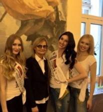 3. Miss Styria Sarah Flicker, Journalistin und Bloggerin Hedi Grager, Miss Styria Andrea Jörgler und Vize Miss Styria Magdalena Leitner (Foto Fotostudio Sima)
