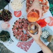 Eröffnung der Bar Campari im Grazer Delikatessenladen Frankowitsch (Foto Laura Karasinski)