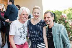 """Autor Reinhard Sudy, Schauspielerin Sigrid Spörk und Ehemann Christoph """"Calim"""" Reicho - 5 Jahre STEIRERIN (Fotos Prontolux Thomas Luef Mia's Photo Art)"""