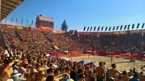 Beachtvolleyball WM 2017 in Wien (Foto Hedi Grager)