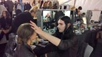 Backstage Callisti Show auf der MQ Fashion Week 2017 (Foto Hedi Grager)