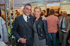Michi Klamera und Christine Reiler - Eröffnung des Luis Trenker-Shops (Foto Starpix / Alexander Tuma)