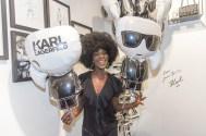 Karl Lagerfeld Store Opening in Wien: Doretta Carter (Foto Andreas Tischler)