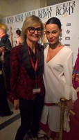 KURIER ROMY Gala 2018 - Hedi Grager und Edita Malovcic (Foto privat)