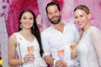 Miss Styria Justine Bullner, Christian und Kerstin Zacharias - pink&white Event am Gut Pössnitzberg (Foto Gut Pössnitzberg)