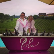Rainer Ogrinigg und Hedi Grager - pink&white Event am Gut Pössnitzberg (Foto Hedi Grager)