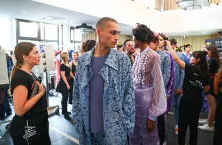Marcel Ostertag Fashion Show im Rahmen der Fashion Week Berlin (Foto WilkPR)