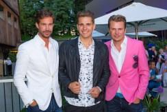 Sommerfest OBEGG - Best of Südsteiermark und LOISIUM - Michael Lameraner, Philipp Knefz und Adi Weiss (Foto Moni Fellner)