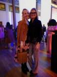 Marc Cain Fashion Show Berlin - Kathrin Gelinsky und Hedi Grager (Foto privat)