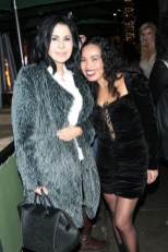 Maria Conchita Alonso and Ninfa Nikki Perez (Photo by Guillermo Proana)