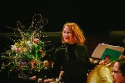 Eröffnung der Diagonale 2019 in der Grazer Helmut List-Halle - Preisträgerin Birgit Minichmayr (Foto Diagonale/Sebastian Reiser)