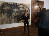 Rudolf Budja Galerie Salzburg: Künstler Enrique Fuentes (Foto Hedi Grager)
