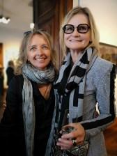 Ausstellung in der Rudolf Budja Galerie Salzburg - Marion Fischer und Hedi Grager (Foto Hedi Grager)