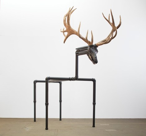 La Biennale di Venezia 2019: Jimmie Durham: Red Deer 2017 (Photo Nick Ash)
