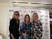 French Riviera Film Festival (FRFF) - Hedi Grager, Nicole Muj and Susanne Baumann-Cox (Photo Reinhard Sudy)