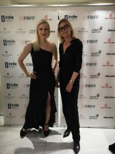 French Riviera Film Festival (FRFF) - Laura Michelle Powers and Hedi Grager (Photo Reinhard Sudy)