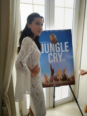 Präsentation Film Trailer of Jungle Cry during the Cannes Film Festival - Emily Shah (Photo Hedi Grager)