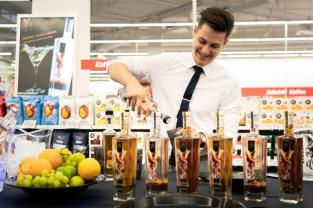 Beim Pre-Opening des MediaMarkt Seiersberg wurden die Gäste mit Vorführungen, Snacks und Drinks verwöhnt. (Foto MediaMarkt)