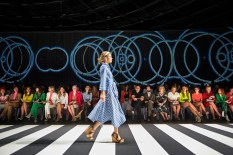 """Marc Cain präsentierte auf der Fashion Week Berlin die Frühjahr/Sommer Kollektionen 2020 unter dem Motto: """"Colour in Motion"""" (Foto Marc Cain)"""