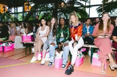 Marina Hoermanseder Show während der Berlin Fashion Week - Paola Maria Ingoglia, Lisa Marie Schiffner, Sandra Lambeck, Leslie Huhn (Foto Paul Aden Perry)