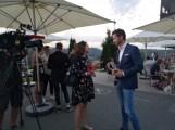LOISIUM meets OBEGG Schlossbergfest im LOISIUM Wine&Spa Resort in Ehrenhausen - Sandra Suppan, ORF, und Michael Lameraner (Foto Hedi Grager)