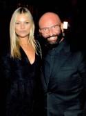 Dieter Ferschinger traf Topmodel Kate Moss im Glock Horse Performance Center. (Foto privat)
