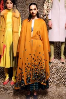 Fashion Show des Designer Dawid Tomaszewski. (Photo by Andreas Rentz/Getty Image)