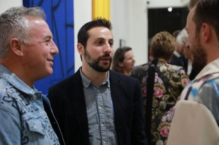 Solo-Ausstellung des Künstlers Alessandro Painsi in Los Angeles. (Photo Eric Minh Swenson)