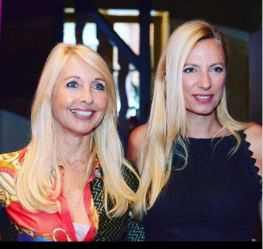 Uschi Fellner mit Landesrätin Juliane Bogner-Strauss. (Foto privat)