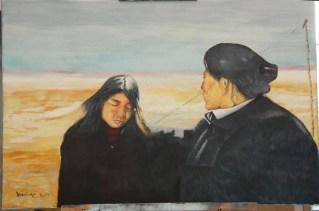 """Stan Bert Singer: """"Galuk and mother""""(Foto Stan Bert Singer)"""