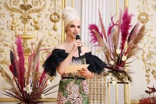 Vienna Awards for Fashion and Lifestyle 2020: Laudatio für Make up Artist of the Year 2020 Drag Queen Tamara Mascara. (Foto Katharina Schiffl)