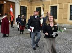 Stiftungsfest Schlosskapelle Schönbrunn: Vergabe Franz Joseph und Elisabeth Orden durch Herta Margarete und Sandor Habsburg - Lothringen (Foto zur Verfügung gestellt)