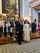 Stiftungsfest Schlosskapelle Schönbrunn: Vergabe Franz Joseph und Elisabeth Orden durch Herta Margarete und Sandor Habsburg - Lothringen (Foto Hedi Grager)