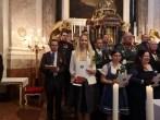 Stiftungsfest Schlosskapelle Schönbrunn: Vergabe Franz Joseph und Elisabeth Orden durch Herta Margarete und Sandor Habsburg - Lothringen (Foto Reinhard Sudy)