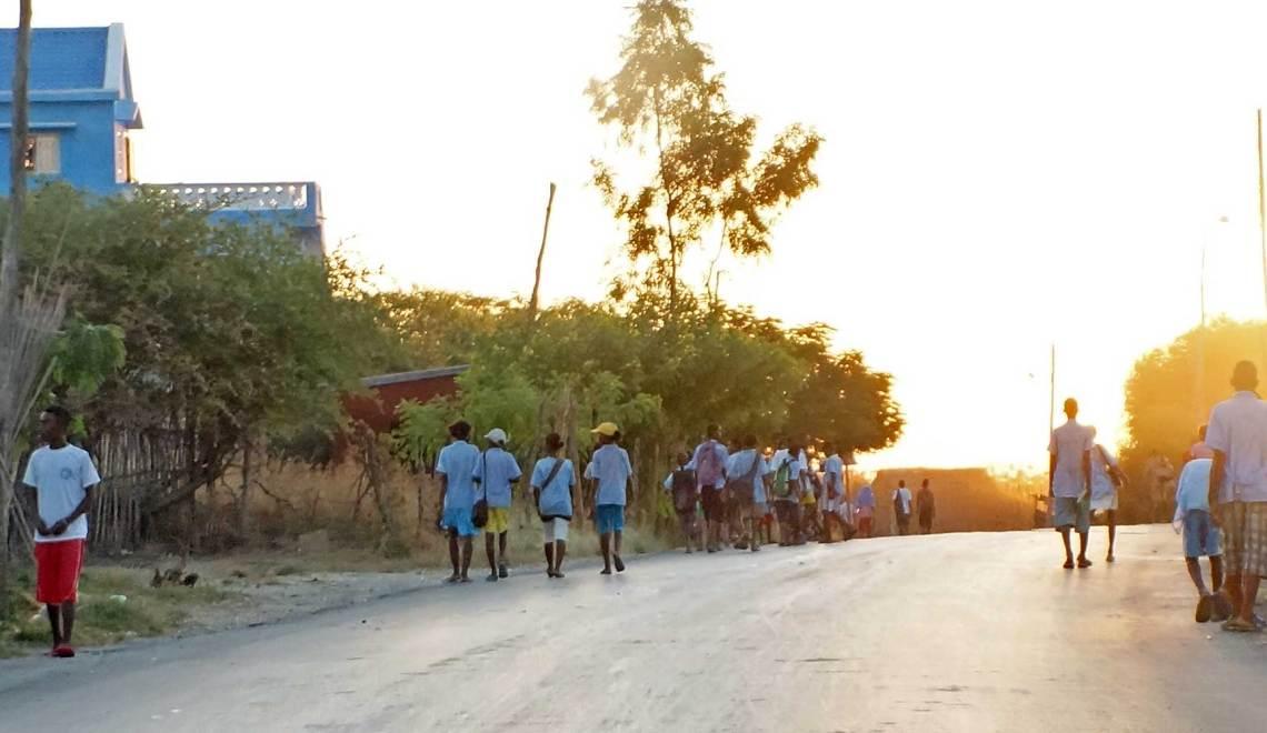 Taxi-brousse malgache (2) : la route