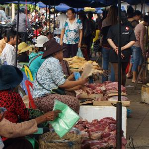 Battambang_Marche
