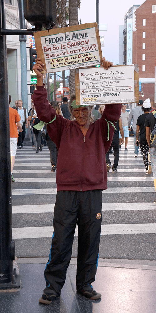 Los Angeles Hollywood Blvd - Prédicateur