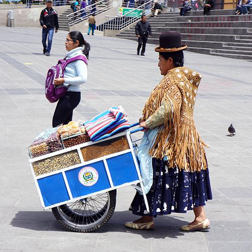La Paz - Bolivie / Plaza Mayor