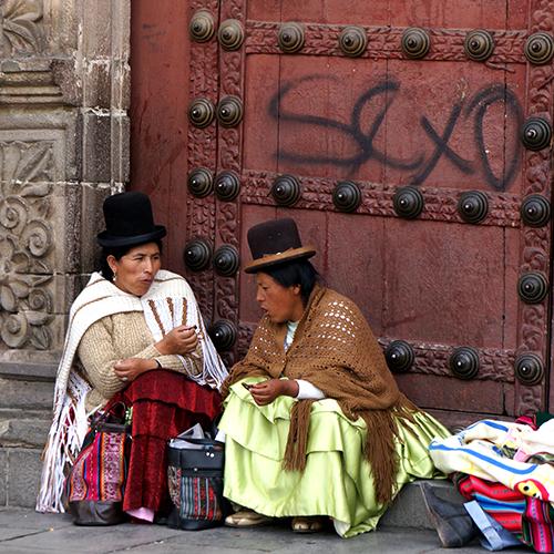 LaPaz Bolivie / Iglesia de San Francisco