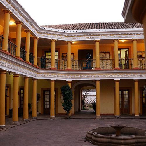 Sucre Bolivie - Cours Interieure