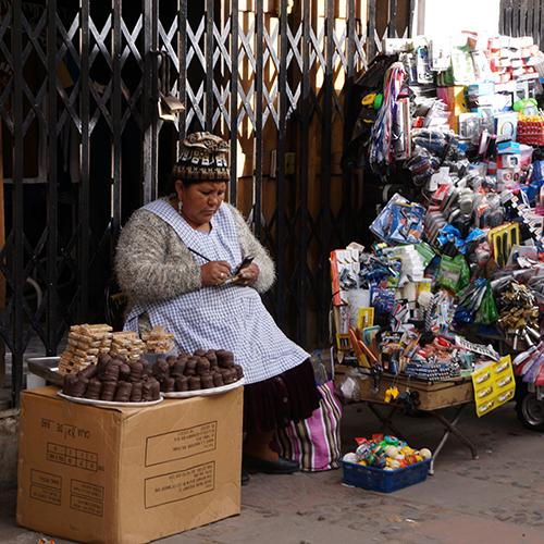 Sucre Bolivie - Mercado Central