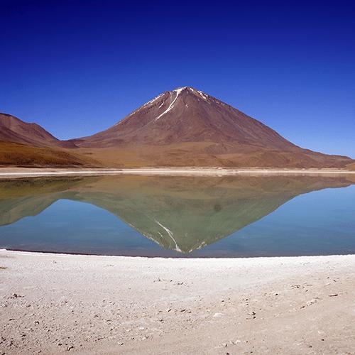 Bolivie - Volcan Licancabur - Laguna Verde