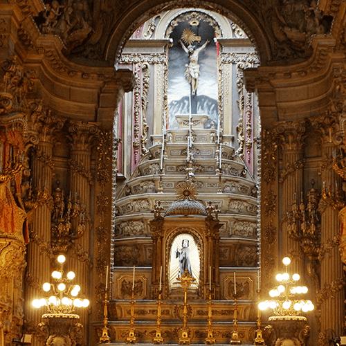 Brésil - Rio de Janeiro / Eglise São Francisco de Paula