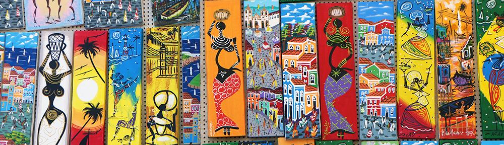 Salvador de Bahia : des églises et des couleurs