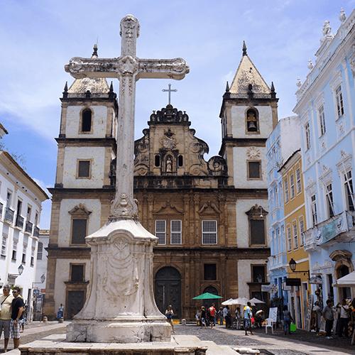 Brésil - Salvador De Bahia / Eglise São Francisco